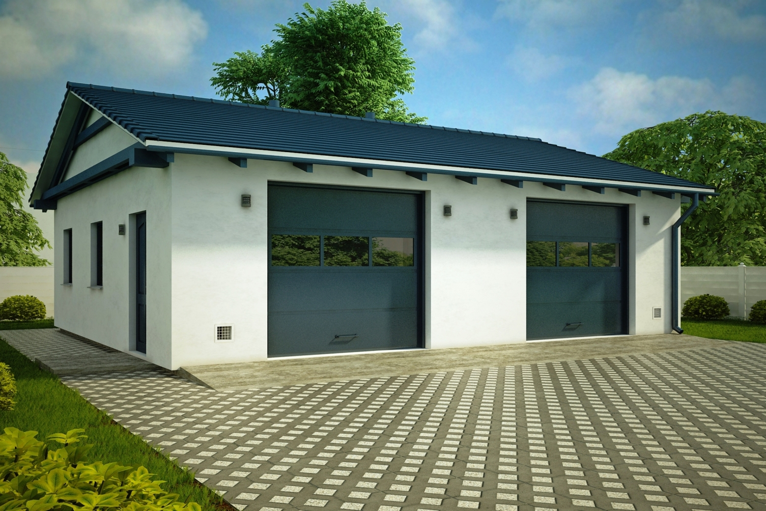 Строительство гаражей под ключ во Владикавказе